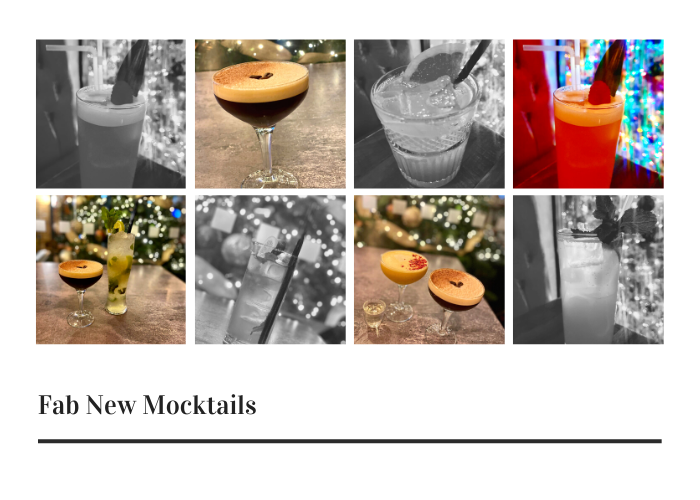 New mocktails at Juniper Place