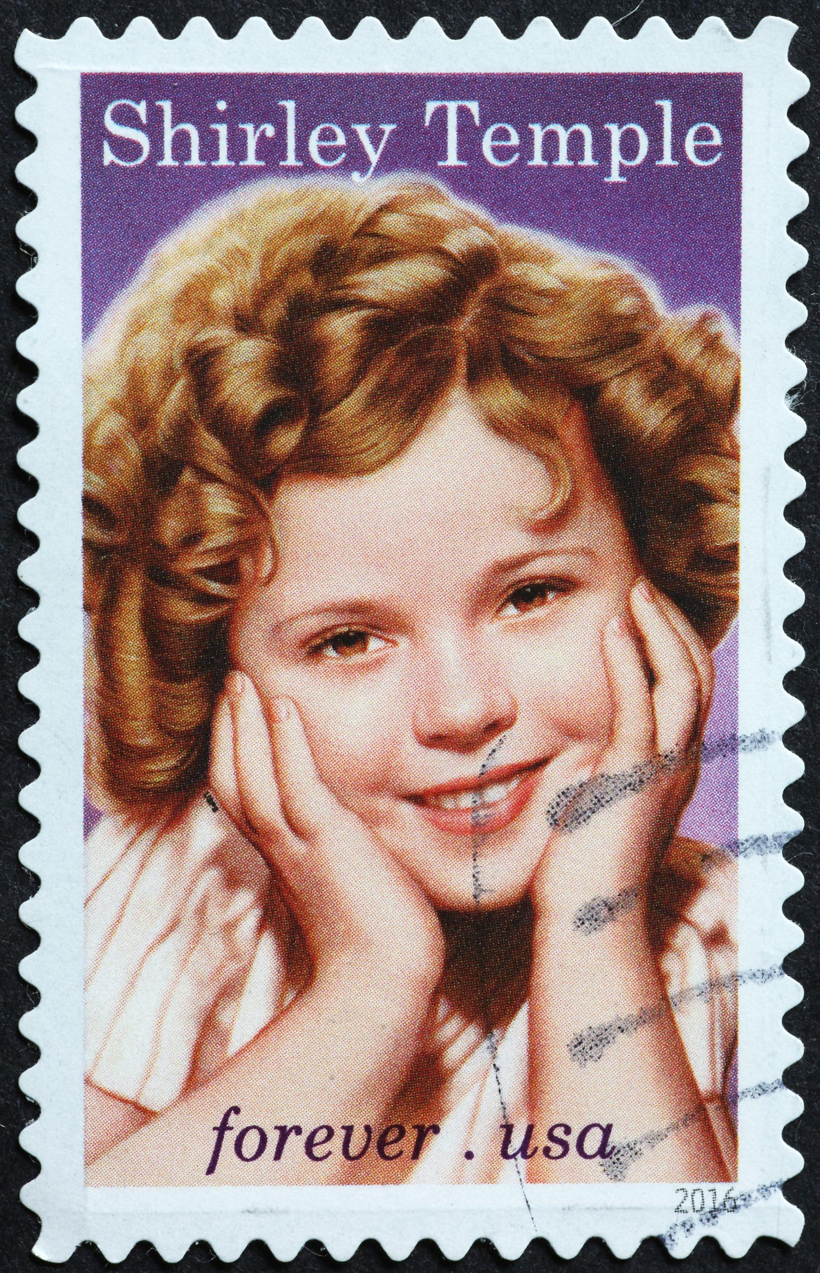 Shirley Temple herself