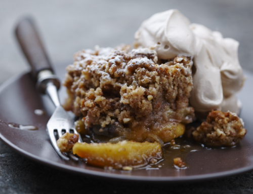 How to Make Biscoff Apple Crumble