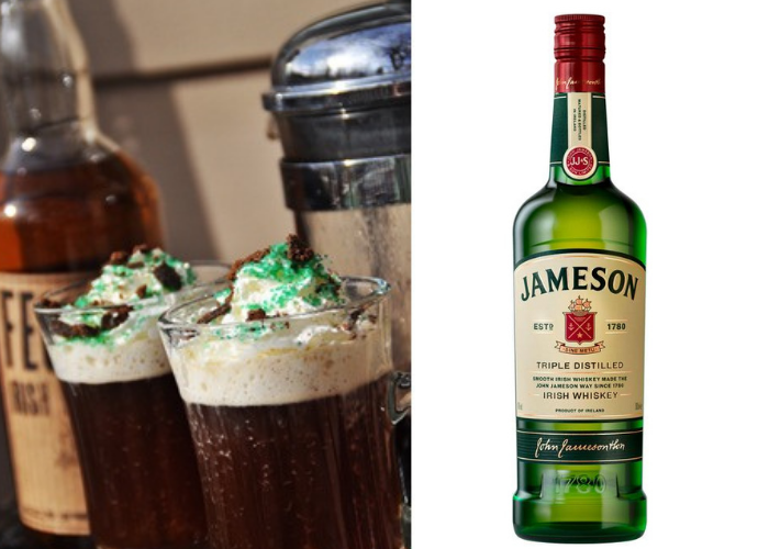 Mint Chocolate Irish Coffee