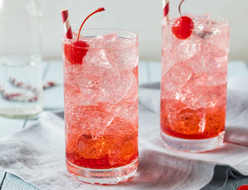 Make a Shirley Temple mocktail